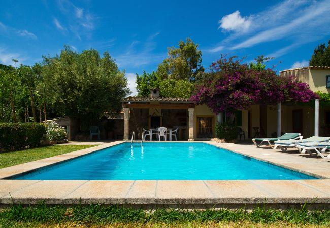 Villa in Pollensa / Pollença - BEAUTIFUL VILLA, PRIVATE POOL! FREE WIFI, AIRCON!