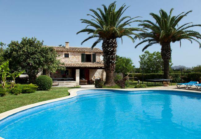 Country house in Pollensa / Pollença - Wonderful villa in Pollença